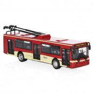 Модель троллейбус инерционный (6*4*4)